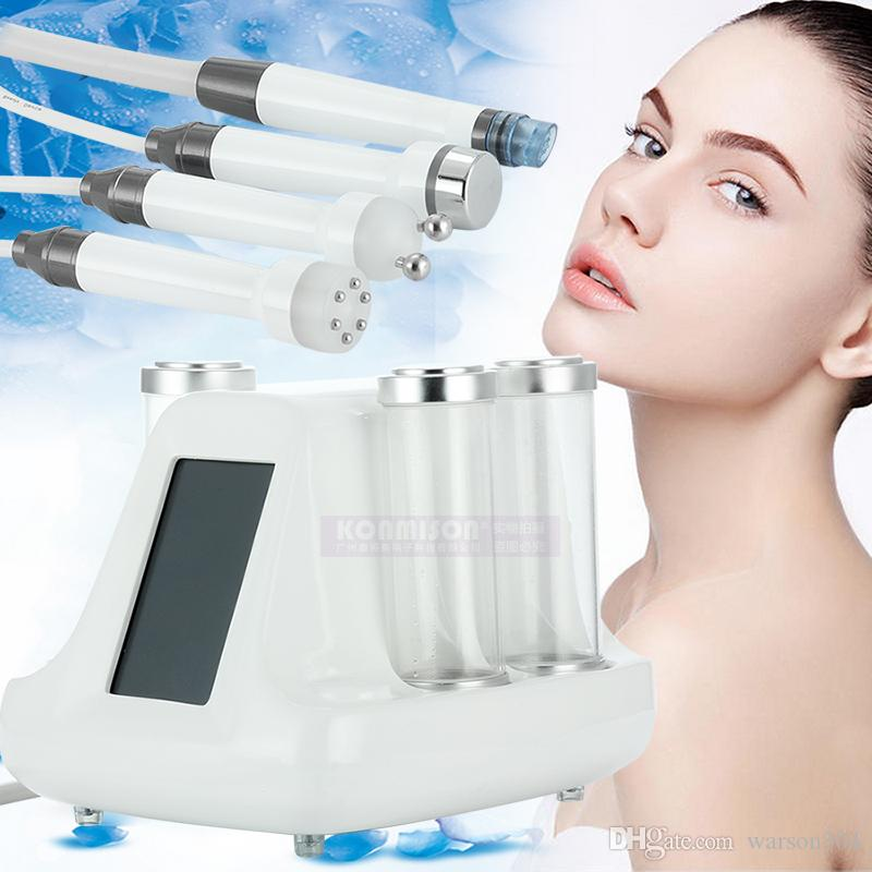 Hydro Microdermabrasion Machine 4 in 1 RF 바이오 초음파 살롱 사용 다기능 하이 드라 페이셜 머신 No Needle Mesotherapy