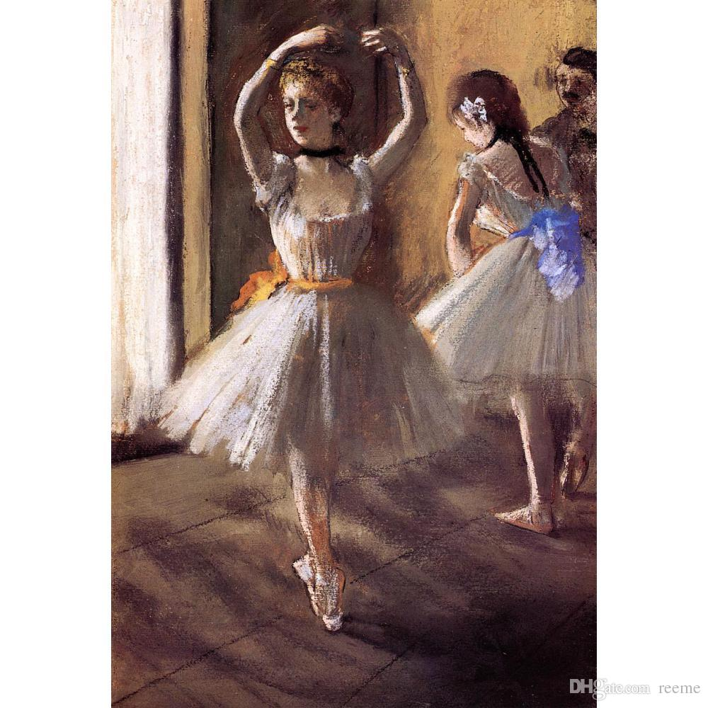 Dancers paintings Edgar Degas Two Dancers in the Studio modern art for wall decor hand-painted