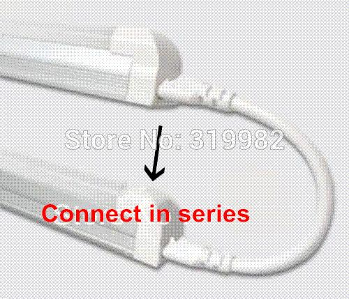 30pcs/lot, T5 T4 LED tube lamp light plug connector 15cm cable in series T5 Fluorescent lamp double side adapter holder wire