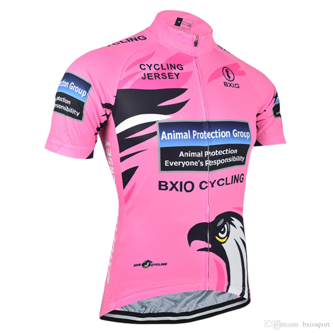24cbd856de Hot Summer BXIO Brand Cycling Jersey Quality Breathable Bike Jersey Pink  Cycling Shirt 3 Rear Pockets Mujeres Ropa Ciclismo BX-067