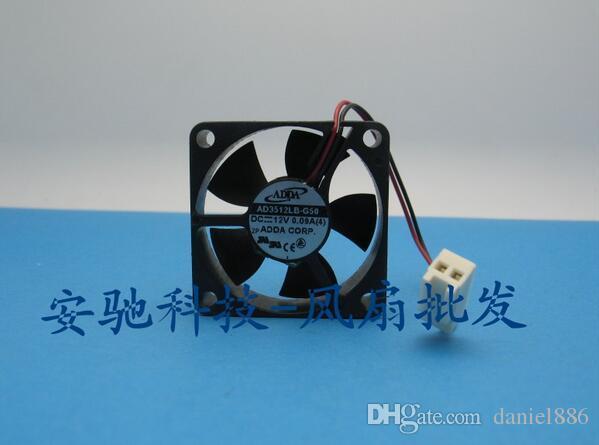 Genuine 3.5CM ADDA 3510 AD3512LB-G50 35 * 35 * 10MM 12V0.09A 2 fios do ventilador da placa-mãe de alimentação gráficos CPU