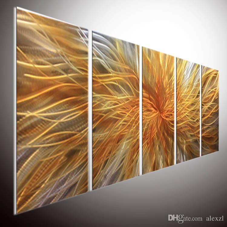 2019 Modern Contemporary Abstract Painting Oil Painting Wall Art Metal Wall Art Metal Art Wall Metal Sculpture Wall Art Metal Art From Alexzl