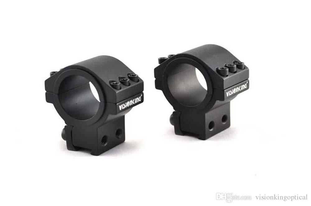 Visionking Алюминиевый Винтовочный Прицел 25,4 мм 30 мм Трубка Devotail Mount для AK47.223.308.50 Cal 11 мм Сфера Кольца Противоударный
