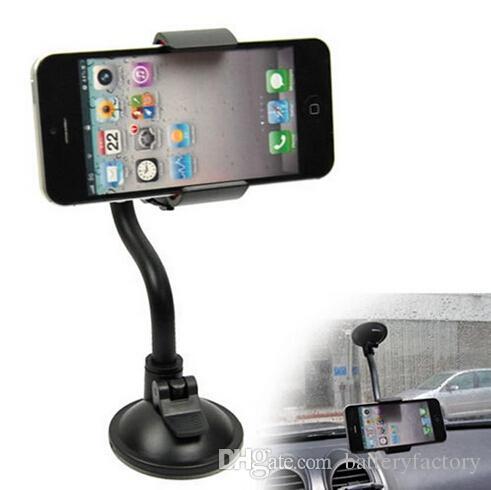 Uchwyt do montażu samochodów z 360 stopni obrotu przyssawki Uniwersalny uchwyt na telefon komórkowy dla Apple iPhone 6s Plus Samsung S7 (DB010)