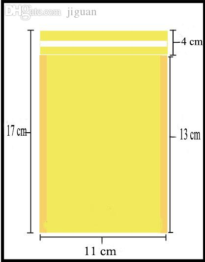 Wholesale-11*13cm (4.33*5.12 inch) 100Pcs CRAFT Poly Padded Envelopes Mailing Bags Bulle Bubble Mailers Padded Envelopes Sobres Acolchados