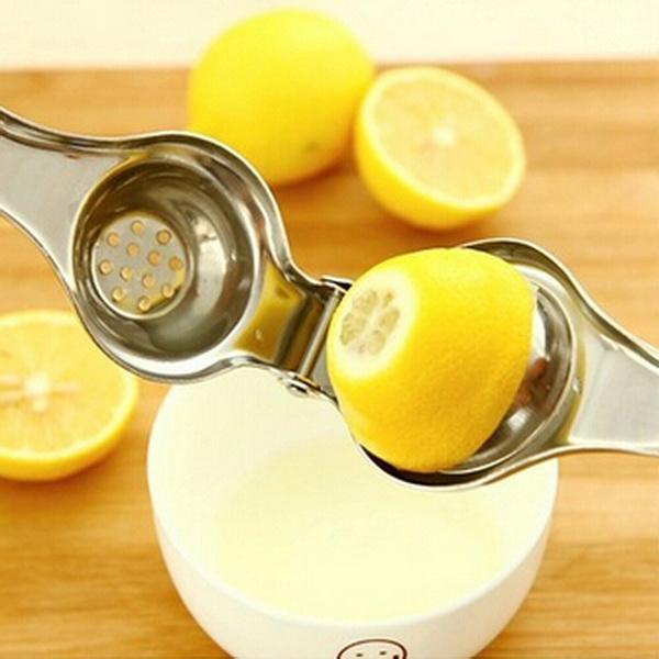 Arrival Stainless Steel Lemon Squeezer Lime Orange Citrus Hand Manual Press Tool Home Kitchen Juicer Utensil High Quality