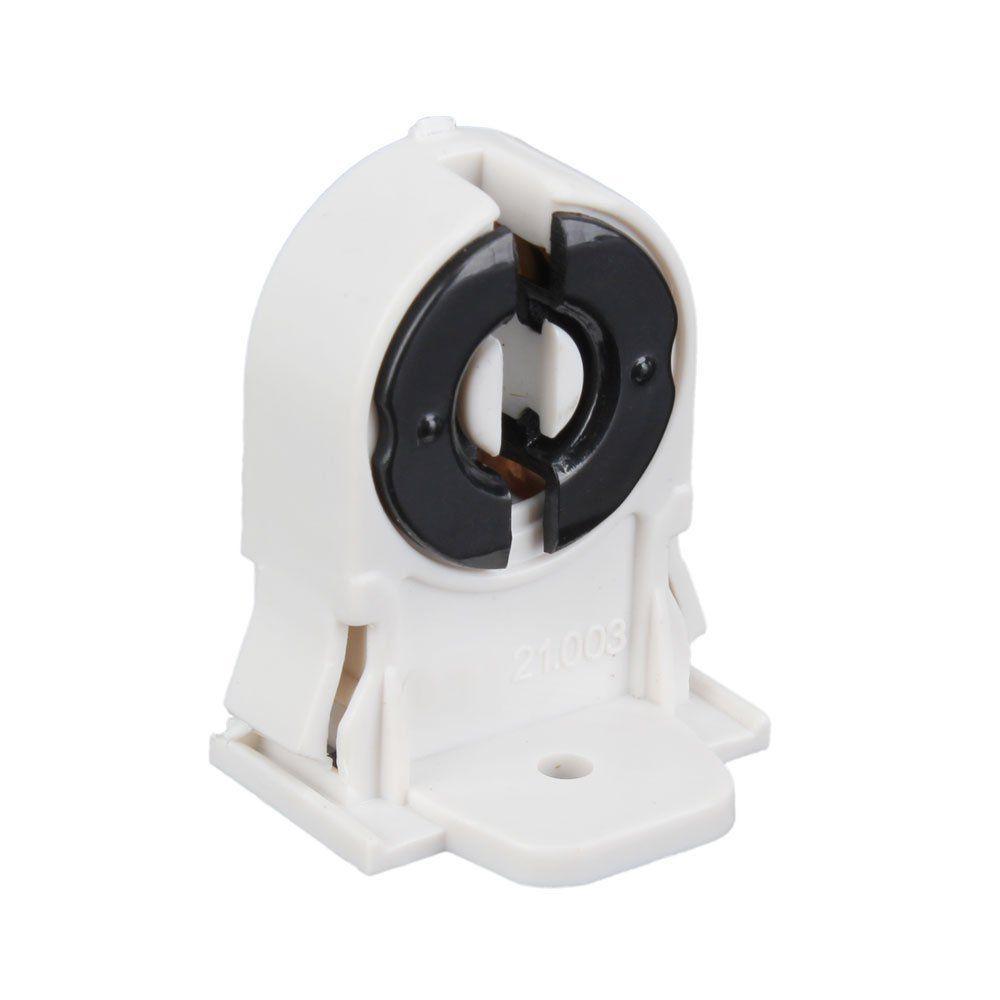 AC 250V T8 G13 기본 LED 수족관 램프 홀더 소켓 어댑터 스냅인 슬라이드 온