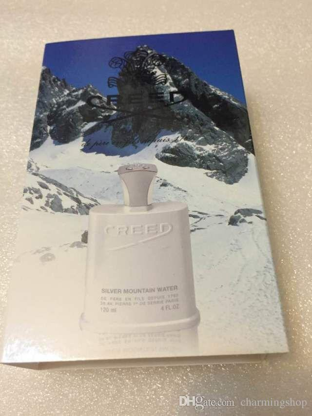 Marca de perfumes navideños Creed sliver mountain water para hombres 120 ml con un buen olor de larga duración