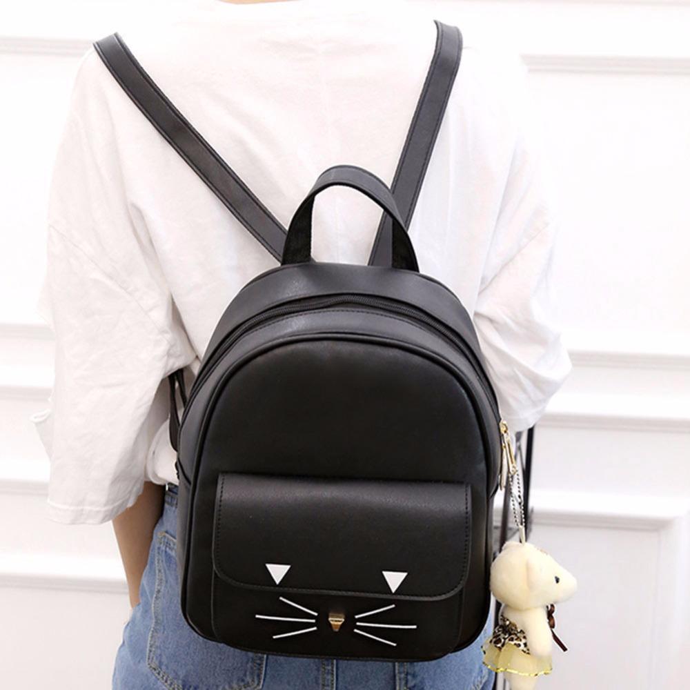 mochilas para mujer de gato