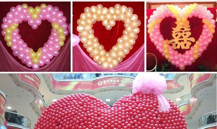 12 inç 2.8g Pembe Lateks Balon Hava Topları Şişme Düğün Parti Dekorasyon Doğum Günü Çocuk Parti Şamandıra Balon Kid Oyuncaklar