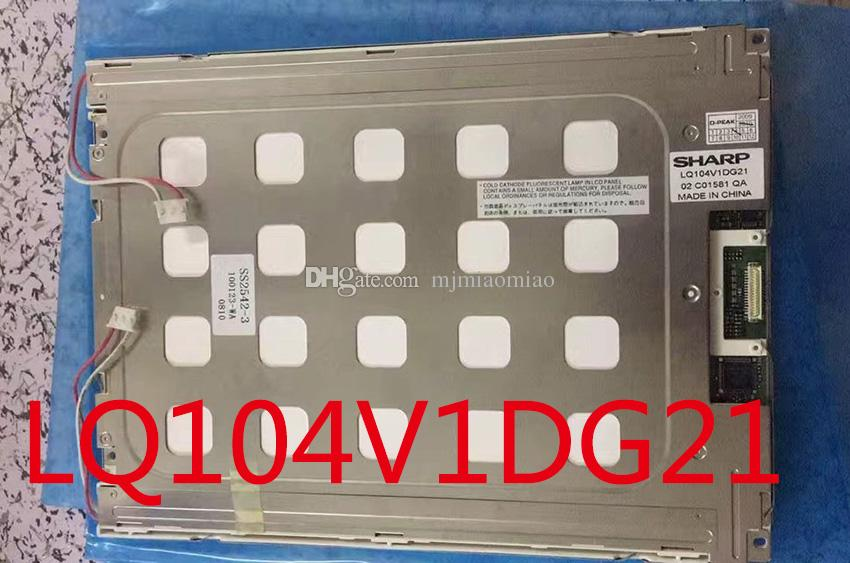 Tela LCD do controle industrial de uma tela LCD de 10,4 polegadas LQ104V1DG11 LQ104V1DG21