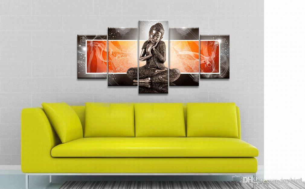 2018 Hd Digital Printing Buddha Painting Wall Art Decoration No ...