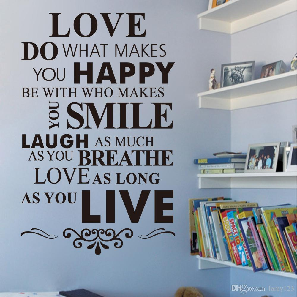 2016 diy love house rule english letter quote wall stickers pvc 2016 diy love house rule english letter quote wall stickers pvc home bedroom waterperoof removable wall