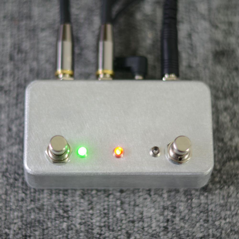 NOUVEAU Pédale de guitare fabriquée à la main ABY Switch Pédalier pour le combineur BoxA / B TRUE BYPASS! Ampli / guitare AB