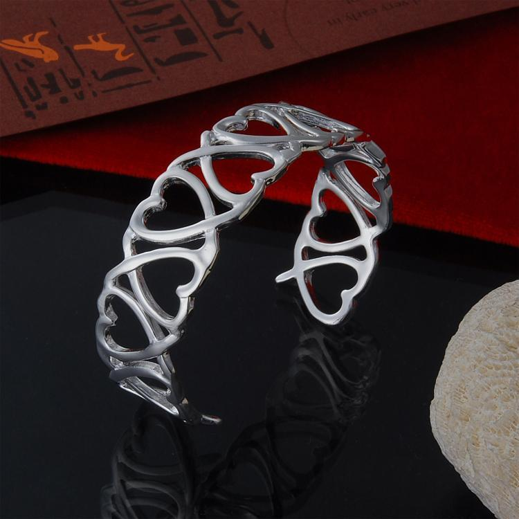 Gros usine directe 925 Bracelet en argent sterling Bracelet Bijoux en argent Mode kelp