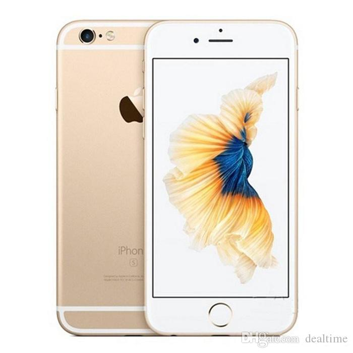 best website b081d 286bc Original Refurbished Apple IPhone 6 6plus 6S 6S Plus 5.5inch Cell Phones  16GB 64GB IOS Black Silver Pink Rose Gold With Fingerprint Touch ID Cell ...