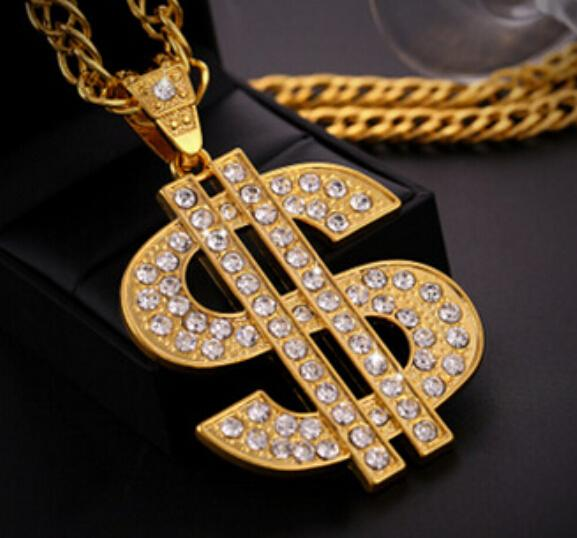 New hiphop hip hop jewelry necklace tide dollar sign necklace free new hiphop hip hop jewelry necklace tide dollar sign necklace free shipping 2018 from goodtime 1056 dhgate mobile mozeypictures Image collections