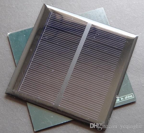 도매 태양 전지 5.5V 1.2W 미니 Monocrystalline 태양 전지 패널 98x98 * 3MM 작은 전원 Appliances10pcs / lot 에폭시 무료 배송