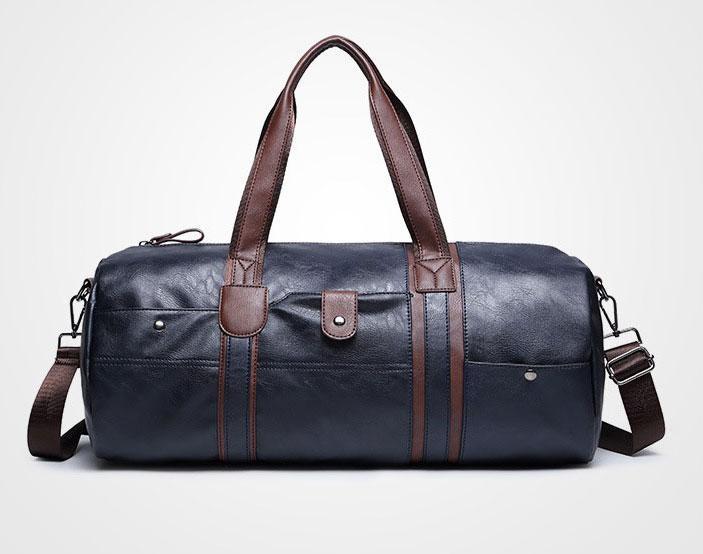 2015 PU Leder Herren Reisetaschen Casual Umhängetasche Marke Männer Messenger Bags Große Kapazität Handtasche Herren Reisetasche 8035