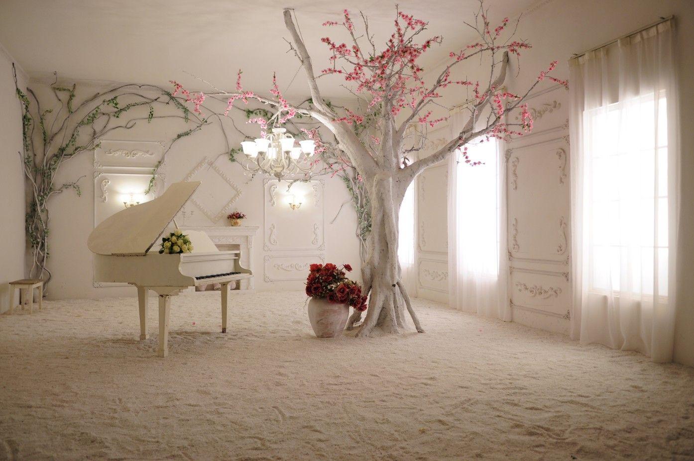 Nuevo Custom grandes murales papel tapiz de tela pared 3d sala de estar dormitorio Espacio moda TV sofá fondo Efecto visual estéreo piano romántico