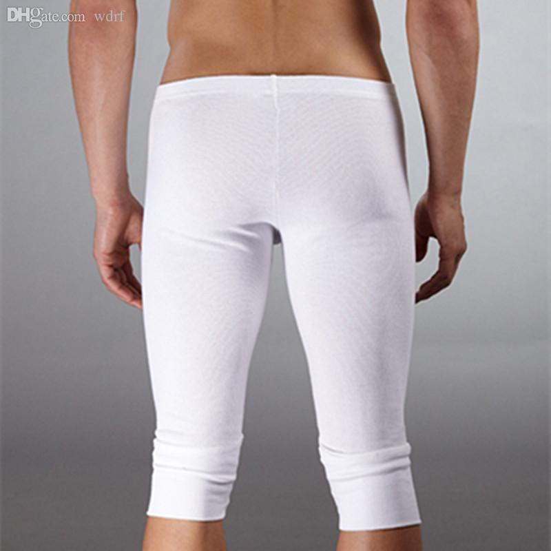 Wholesale-Brand men's underwear made of pure cotton men pants/pyjamas at home man winter pants Warm pants free shipping
