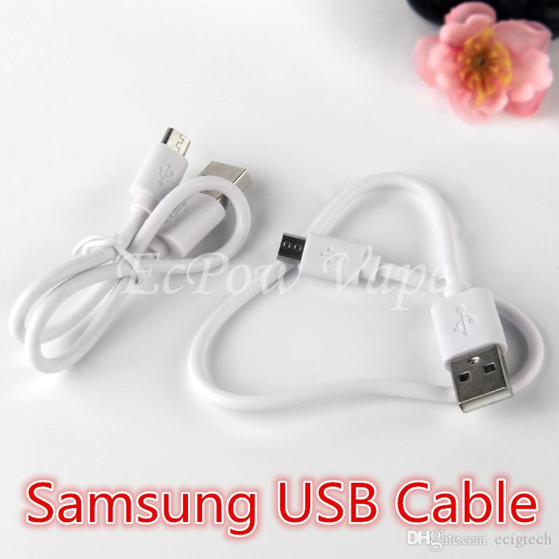 Micro USB-Kabel Ecigarette Batterie USB-Ladegerät für elektronische Zigarettenraucher und Android-Telefon-Laden 310mm Fabrikpreis-Großhandel