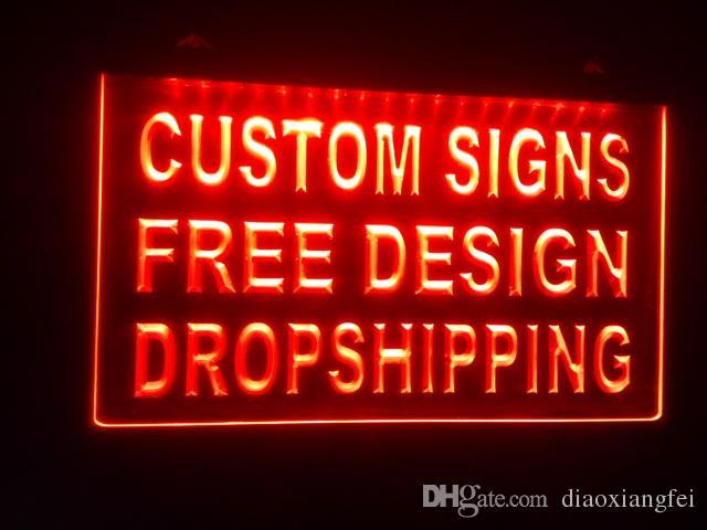 Kendi Özel tasarım bira LED Neon Işık Burcu Bar açık Dropshipping dekor dükkanı el sanatları led