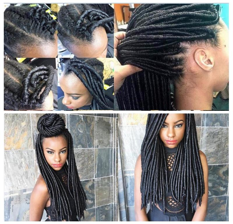 16 Kanekalon Dreadlock Extensions Jumbo Expression Braiding Hair