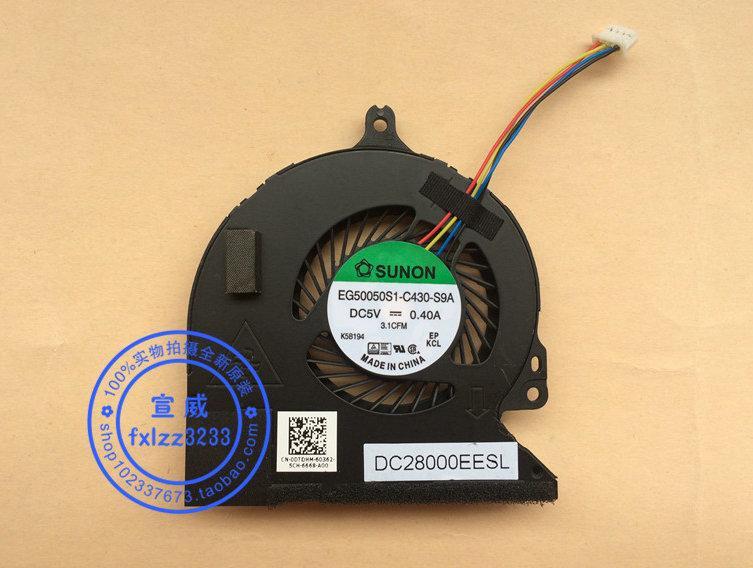 Nuevo ventilador de refrigeración para portátil original para Dell Latitude E5250 EG50050S1-C430-S9A DC28000EESL