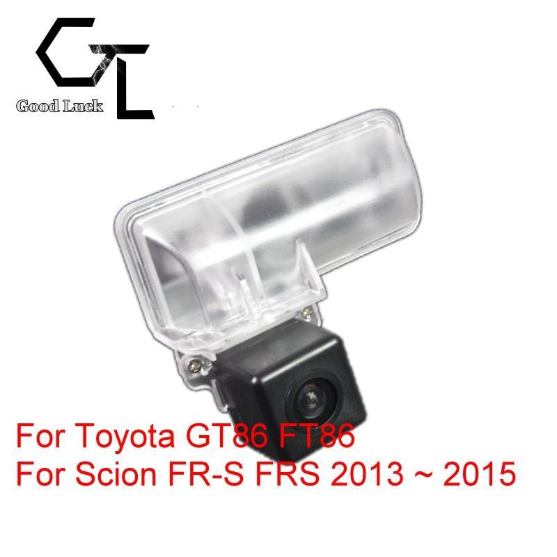 Scion FR-S FRS 2013 ~ 2015 용 Toyota 86 GT FT GT86 FT86 용 무선 자동차 자동 역전 백업 CCD HD 야간 투시도 후면보기 카메라