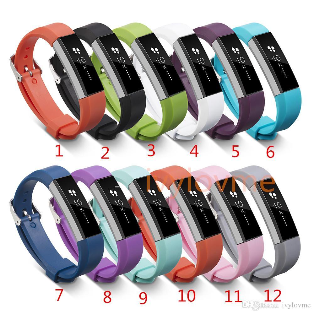 Горячие продажи! Силиконовые ремешки для замены для Fitbit Alta Watch Intelligent Neal Classic Bracte Bright Brap с иглой запястья
