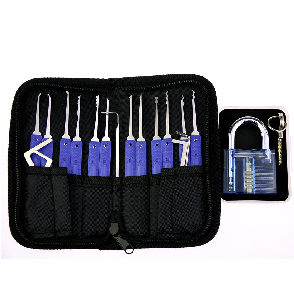 lockpicking locksmith lockpick unlock door opener kit de crochetage serrure PRO