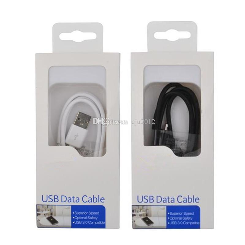 OEM Original 1M 3FT Micro V8 Sync Data Line USB Cable Charging Cords Charger Wire for Samsung S4 S5 Smartphone HTC LG Android
