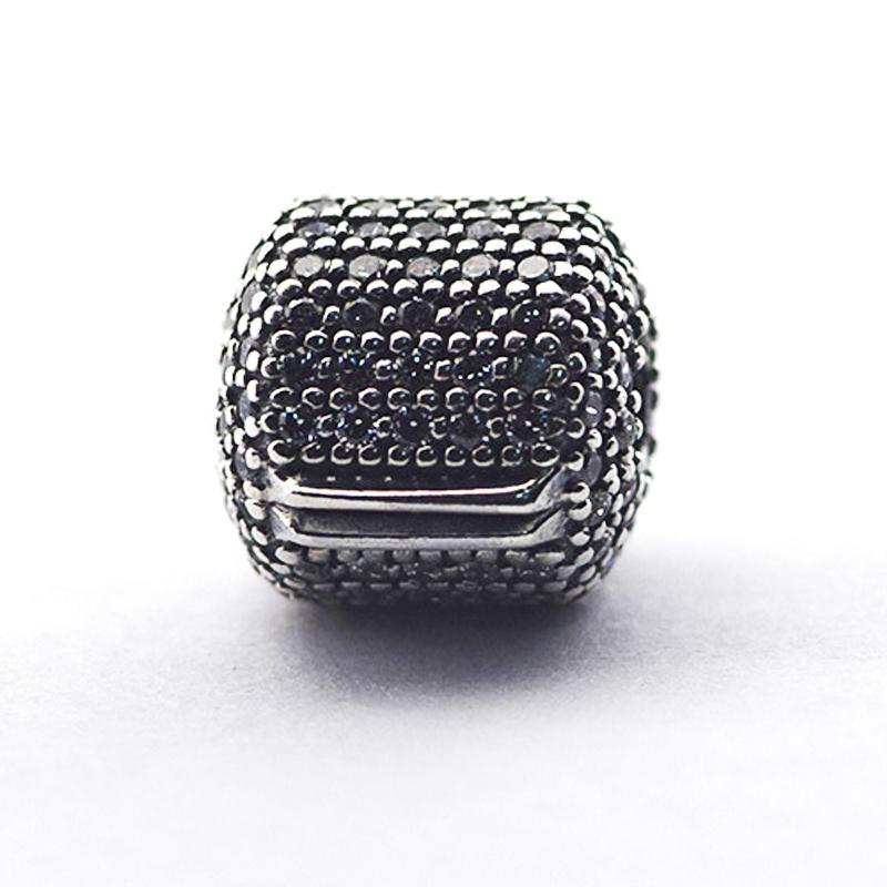 Branelli allentati clip 100% autentico 925 perle in argento sterling con clip barile cz Adatto per i braccialetti Pandora gioielli fai da te 2016 nuova festa della mamma