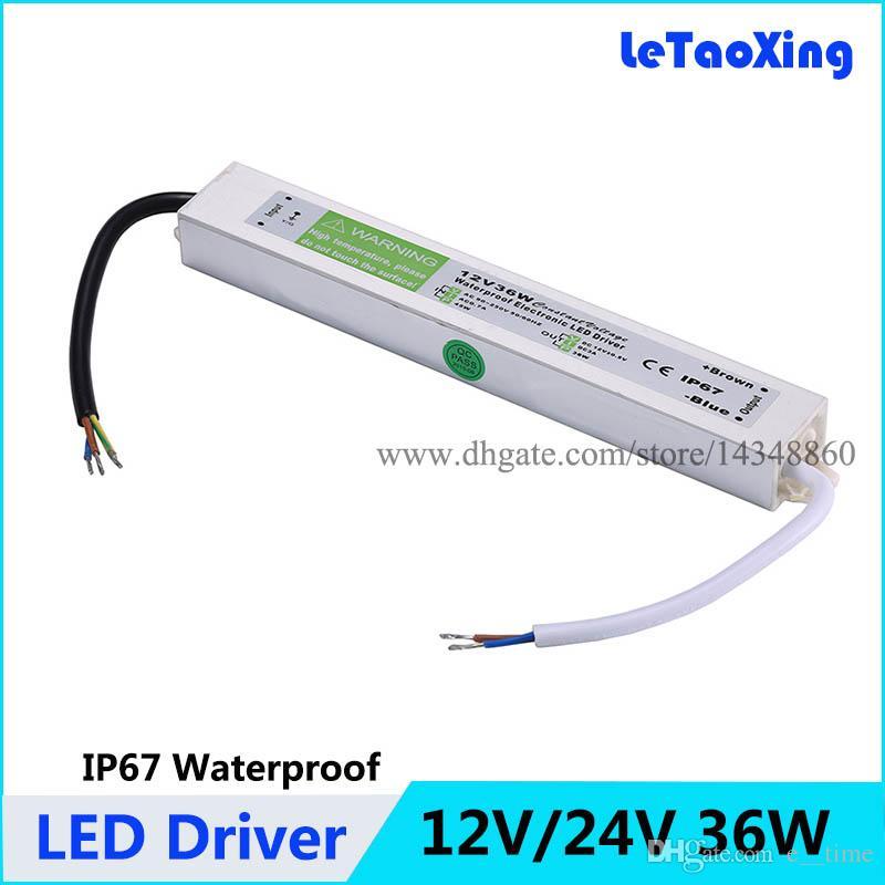 Waterproof IP67 LED Driver Power Supply Transformer 240V DC12V for LED Strip UK