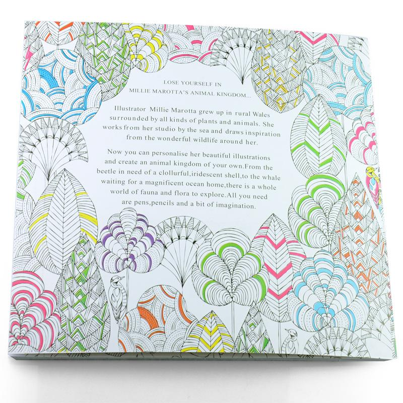 New PrettyBaby secret garden coloring book painting drawing book 24 ...