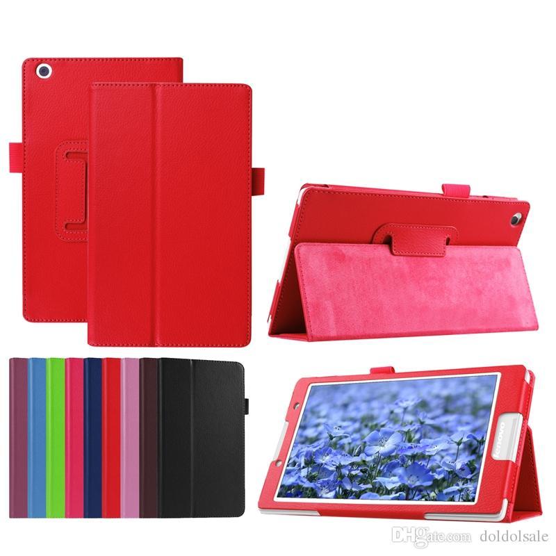 "30pcs PU Ledertasche für Lenovo Tab3 8.0 TB3-850F TB3-850M 850F 850M Tablet 8 ""NICHT für Lenovo Yoga Tab3 YT3-850F / 850M / 850L"