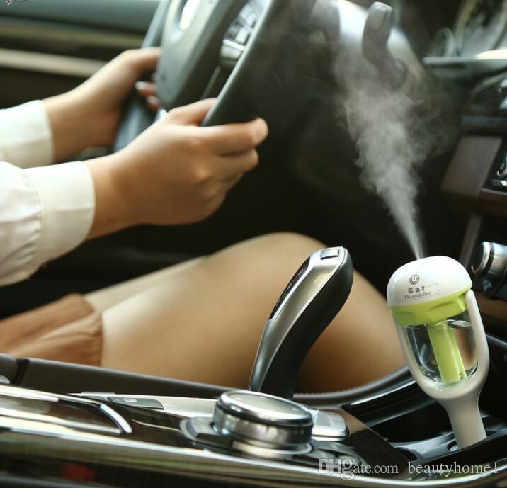 Auto-Aroma-Diffusor-Luftbefeuchter - tragbarer Mini-Auto-Aromatherapie-Luftbefeuchter Luftdiffusor-Reiniger ätherischer Öldiffusor Freies Verschiffen