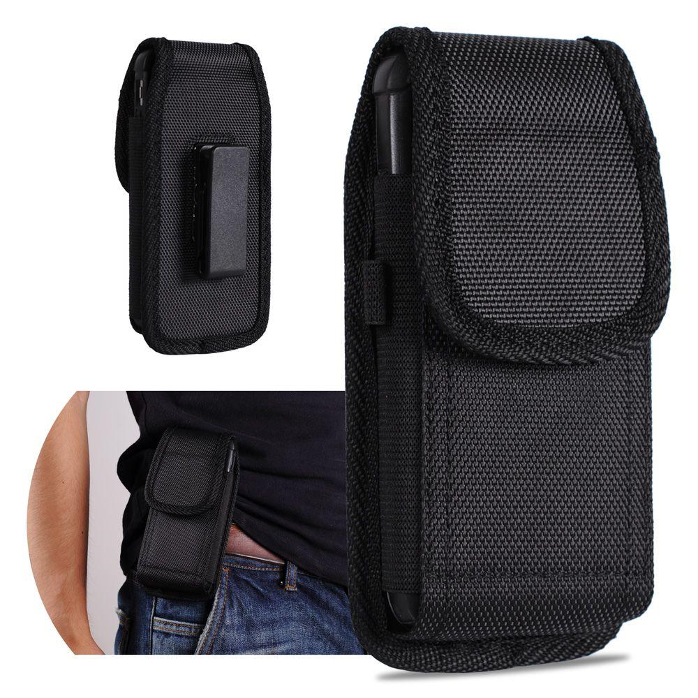 لفون 8 سامسونج ملاحظة 8 رياضة نايلون الحافظة حزام كليب الحقيبة حالة الهاتف غطاء ل العالمي لمدة 4.7 5.5 بوصة