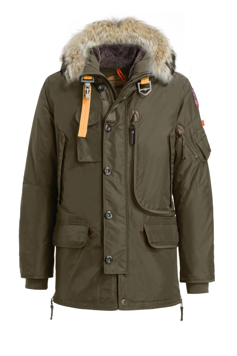 2017 hot sale luxury parajumpers mens kodiak down jacket hoodies fur fashionable winter coats warm parka