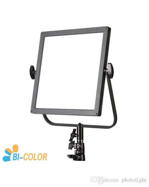 CAME-TV C518S Bi-Color LED Edge Light Camera Studio iluminación de panel de video luz