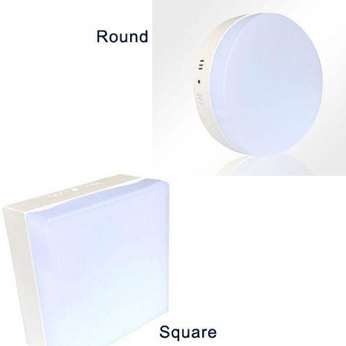 Plafoniera LED a montaggio superficiale 6W 12W 18W 24W Plafoniera quadrata rotonda moderna Lampada decorativa Lampadina Down Lights Bianco caldo Cool white CE ROSH