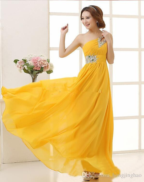 Real Pictures 2021 Organza A Line Bridesmaid Dresses Applique Floor Length V Neck backless Wedding Evening One Shoulder Bridal Prom Gowns