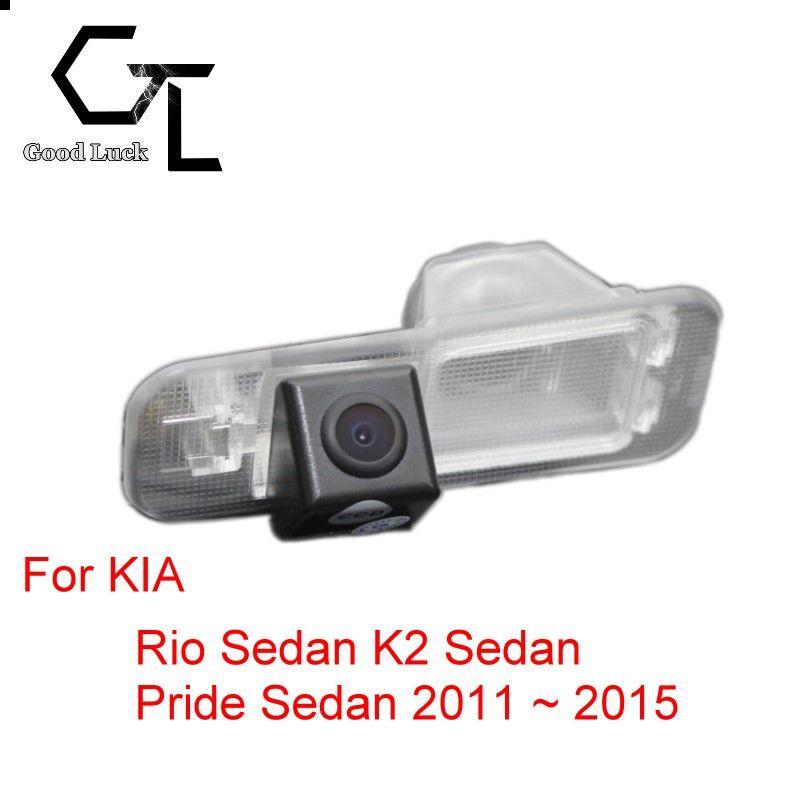For KIA Rio Sedan K2 Sedan Pride Sedan 2011 ~ 2015 Wireless Car Auto Reverse CCD HD Rear View Camera Parking Assistance
