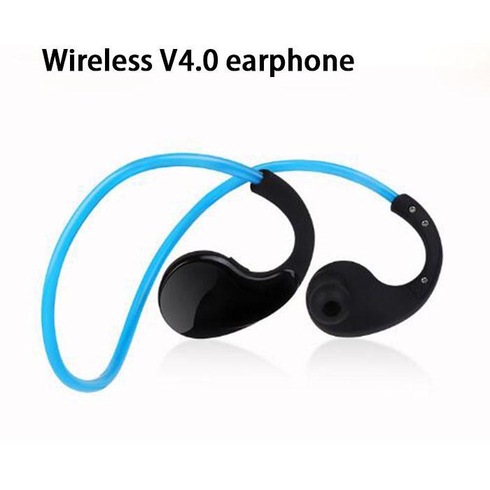 IPX5 Waterproof Sports Headset Wireless Bluetooth V4.0 Earphone Ear-hook Running Noise Canceling Headphone with Mic for iphone 7 7plus