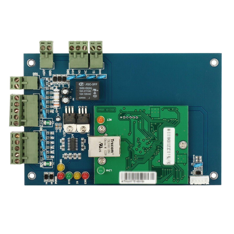 Wiegand Однодверный 2 считыватель сети 12 В Профессиональный RFID IC Контроль посещаемости времени TCP / IP