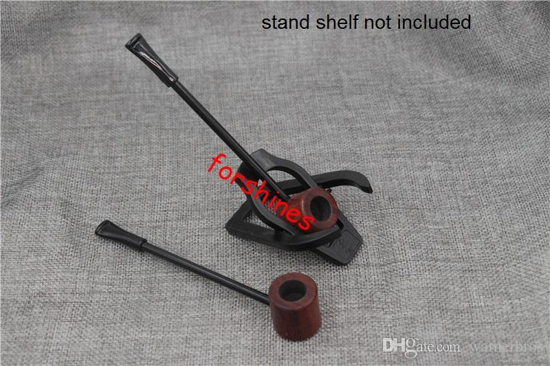 epacket free shipping USA Germany uk rosewood wooden smoking pipe red Ebony tobacco pipes cigarette holder Mini Long Wood Pipe Men's herb