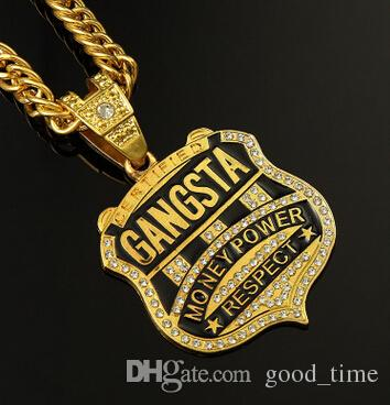 Wholesale custom name necklace personalized nameplate necklace 24k wholesale custom name necklace personalized nameplate necklace 24k real gold chain hip hop jewelry collares colier hiphop necklace for men diamond pendants aloadofball Image collections