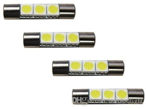 Lighting super White 29MM 5050 3SMD led Festoon Dome Map Light panel Bulb 211-2 578 569