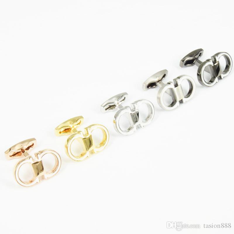 Mektup flgm Metal Kol Düğmeleri seramik yüzey Kol Tırnak Erkekler Manşet bağlantı fransız Manşet Renkler Lüks Kol Düğmesi yüksek kalite Ücretsiz Shippi